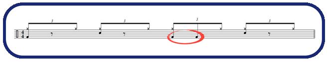 double stroke