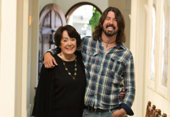 Virginia and Dave Grohl