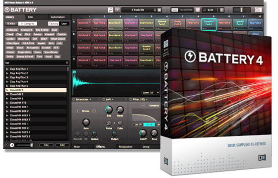 Native Instruments Battery 4