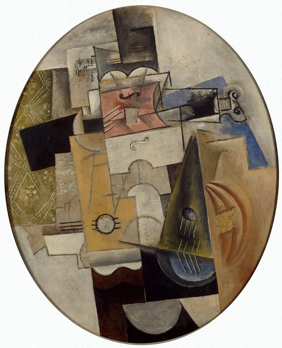 Пикассо музыкальные инструменты