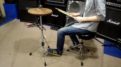 Упражнения на развитие левой ноги при игре с хай-хетом