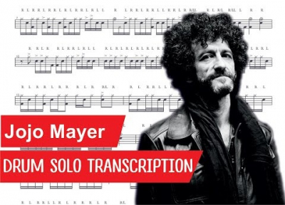 Транскрипция барабанного соло Джоджо Майера
