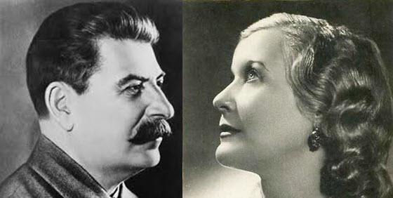 Любовь Орлова и Сталин