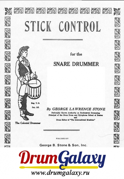"George Lawrence Stone - ""Stick Control For The Snare Drummer"""