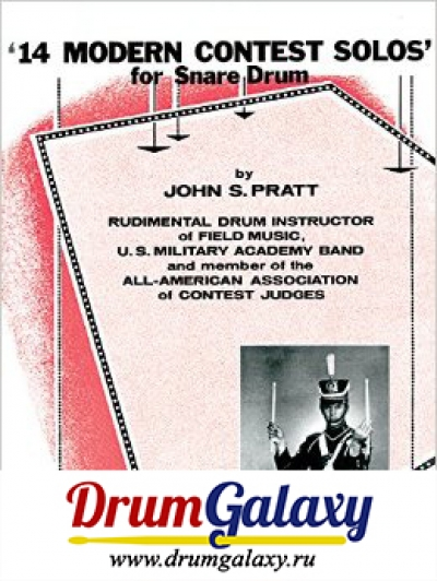 "John S. Pratt - ""14 Modern Contest Solos for Snare Drum"""