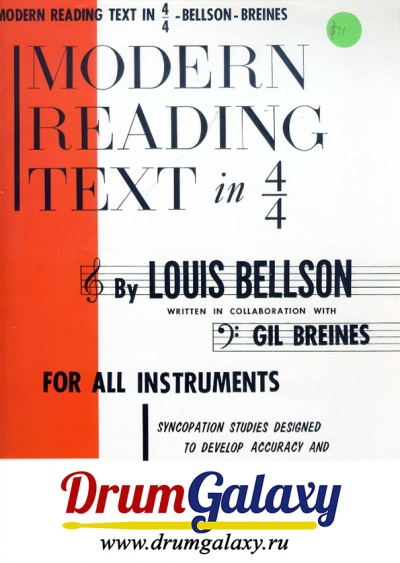 "Louis Bellson – ""Modern Reading Text in 4x4"""